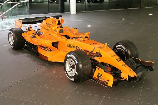Fotostrecke: McLaren-Präsentationen seit 2006