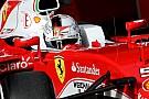 Vettel asegura que el nuevo Ferrari