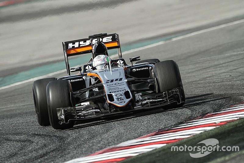 Alfonso Celis Jr rivelazione con il quinto tempo sulla Force India