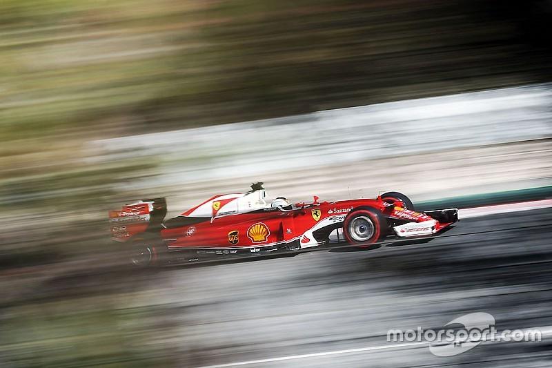 Test Barcellona, Day 2: Vettel si conferma con le ultra soft