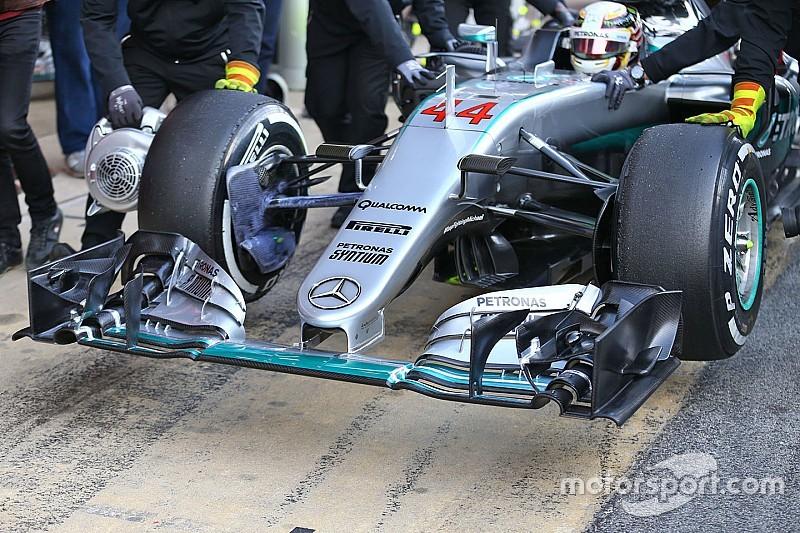 Mercedes mag nieuwe neus mogelijk niet inzetten in Melbourne
