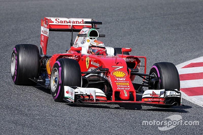Test Barcellona, Day 4: Raikkonen rimette davanti la Ferrari con le ultra soft