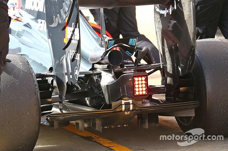 McLaren: c'è la power unit tutta 2016 e un cofano motore più largo