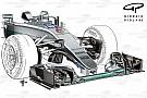 La Mercedes ha cambiato il concetto aerodinamico del muso con l'S-duct