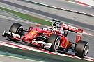 Kimi usa ultramacios e faz melhor tempo da pré-temporada