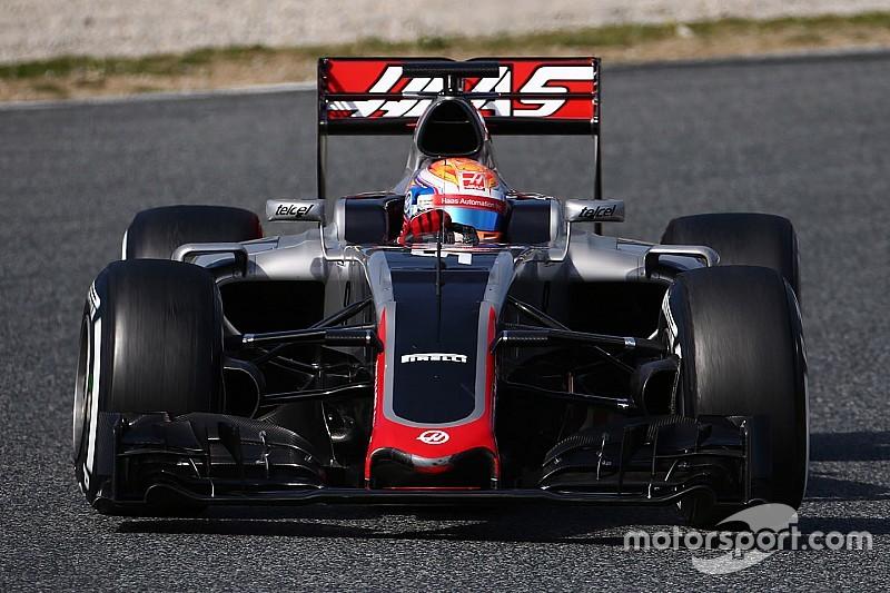Грожан призвал Haas решить проблемы с тормозами