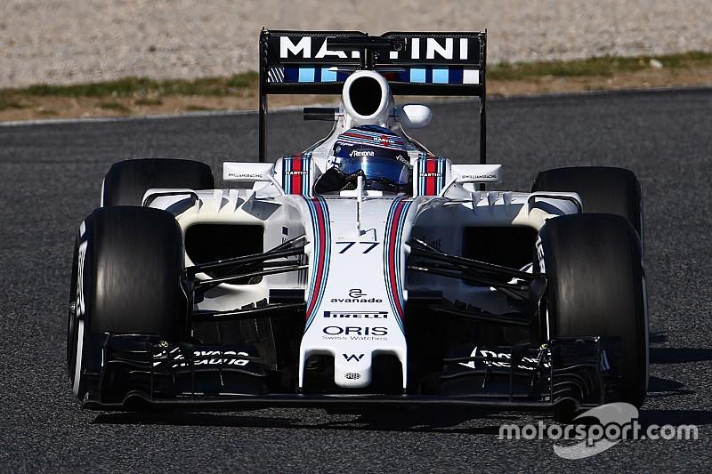 Williams prevê uso de novo bico apenas para GP do Bahrein