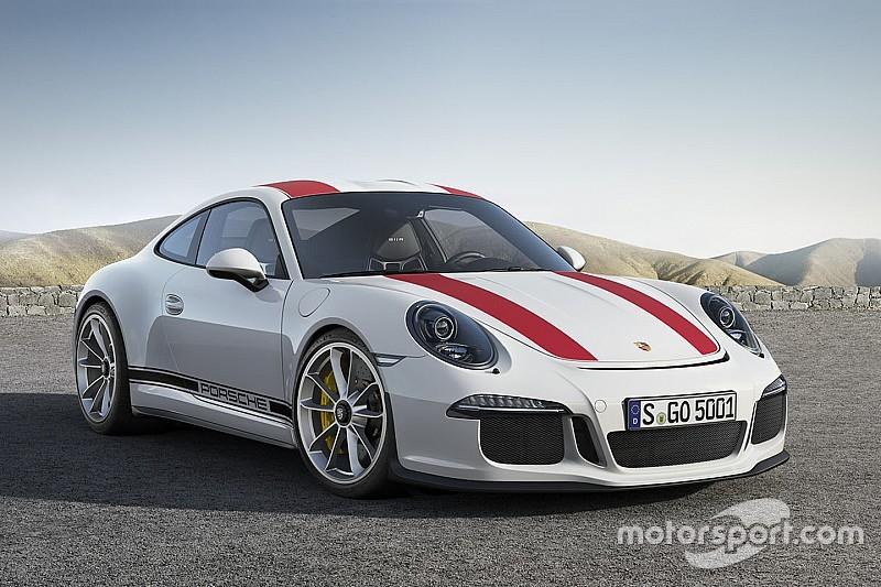 Video: Geniet van het ronkende geluid van de Porsche 911 R