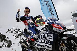 MotoGP Interview Barberá - Pourquoi ne pas être aux avant-postes aussi en MotoGP ?