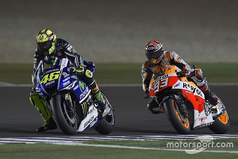 "Rossi expects ""nothing special"" between himself and Marquez"