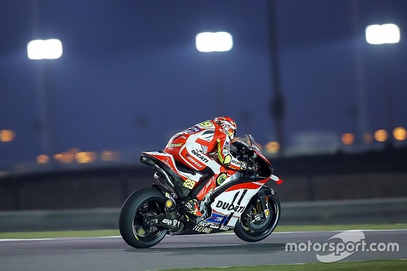 """Para Rossi, velocidade em reta da Ducati é """"um problema"""""""