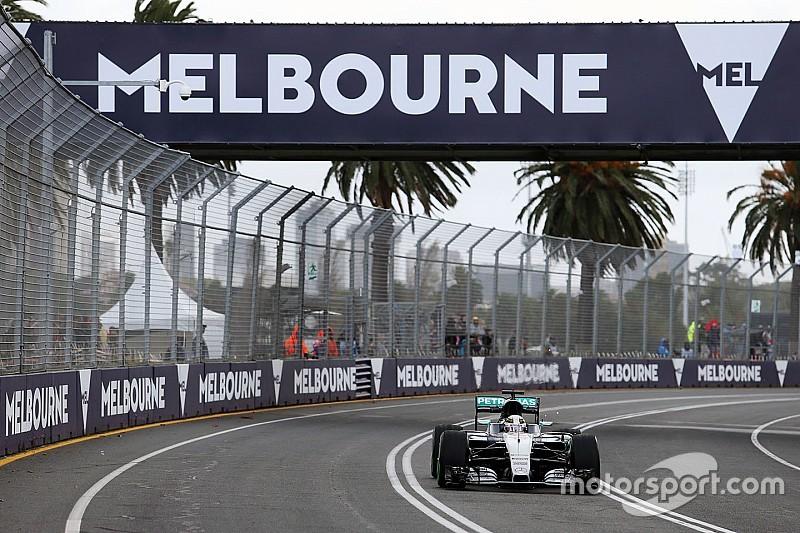 2016年澳大利亚大奖赛第一节练习成绩