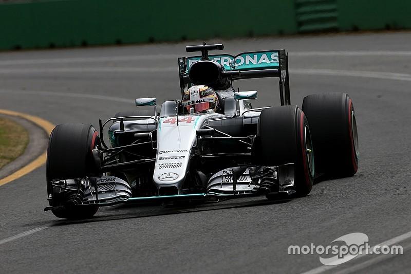 """Hamilton asegura terminar """"muy contento con el resultado"""""""
