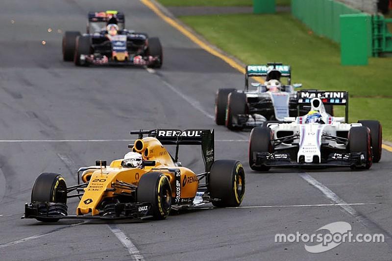 Magnussen vê ritmo de corrida da Renault próximo a Williams