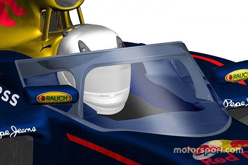 "La cabina de Red Bull ""mejor"" que el halo de Ferrari"
