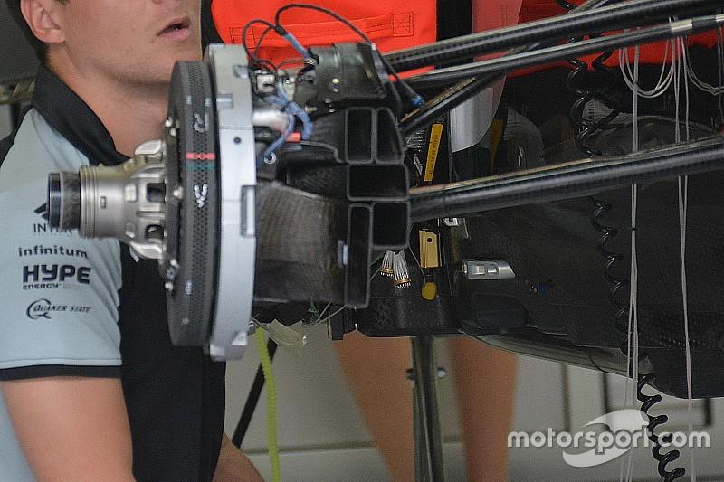 Tech update: Force India introduceert geblazen vooras