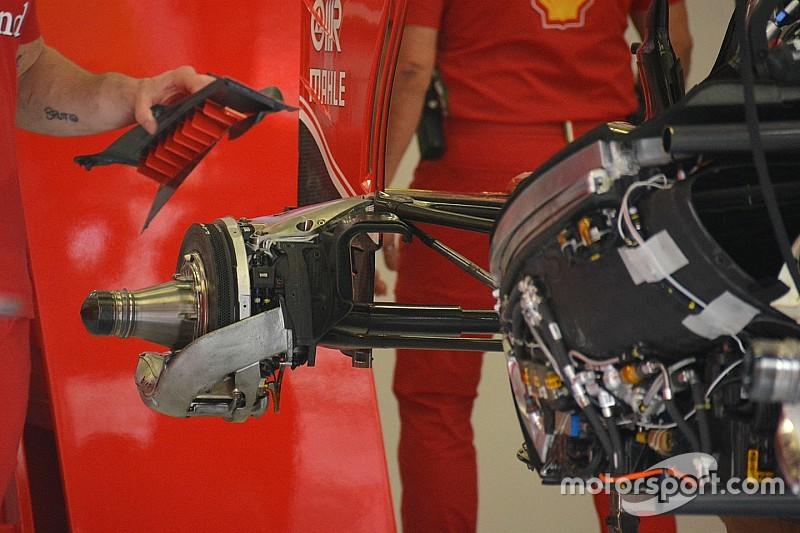 Tech update: De slimme ophanging van de Ferrari SF16-H