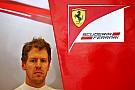 Vettel aan de kant door losgekomen wielmoer