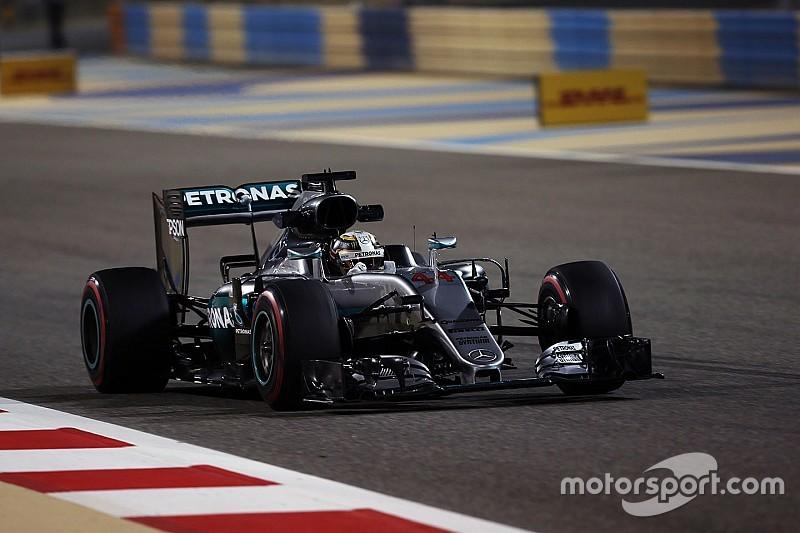 هاميلتون ينطلق أوّلاً بعد تحطيمه الزمن القياسي على حلبة البحرين
