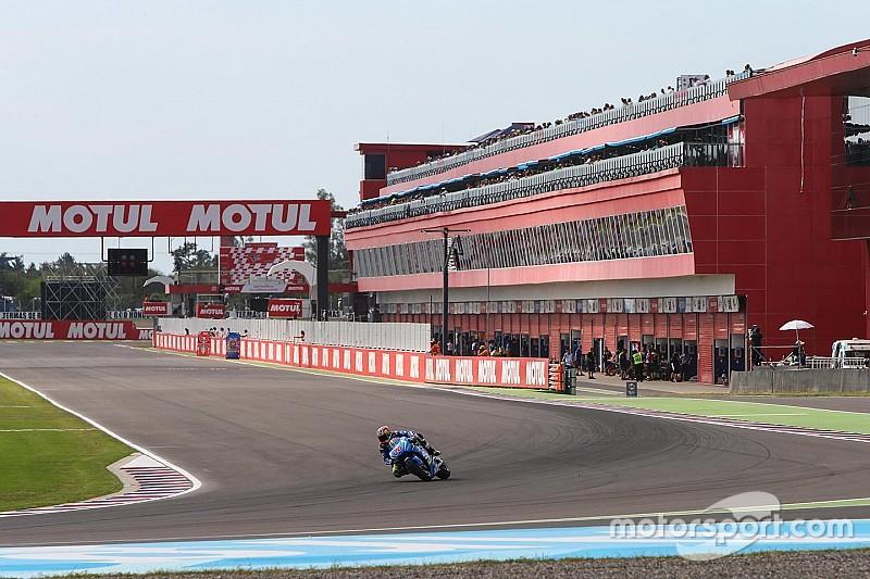 Extra MotoGP-training afgelast vanwege slecht weer
