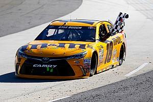 NASCAR Cup Rennbericht Kyle Busch wird zum Martinsville-Fan: Sieg auch am Sonntag
