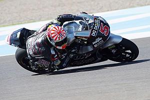Moto2 Rennbericht Moto2: Johann Zarco gewinnt, Jonas Folger auf dem Podest