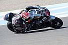 Moto2: Johann Zarco gewinnt, Jonas Folger auf dem Podest