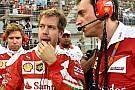 La tormenta perfecta causó el abandono de Vettel