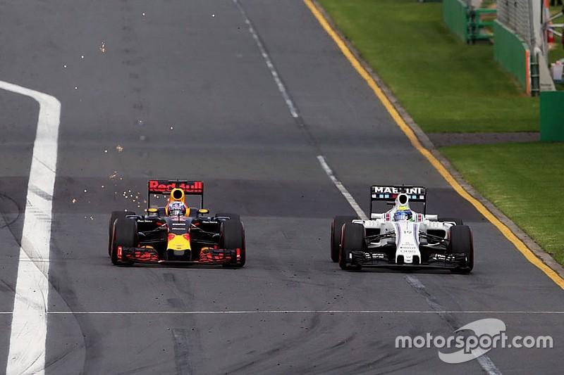 McLaren, Red Bull y Williams, clave en el cambio de clasificación