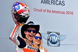 MotoGP美国站正赛:马奎兹轻松取胜