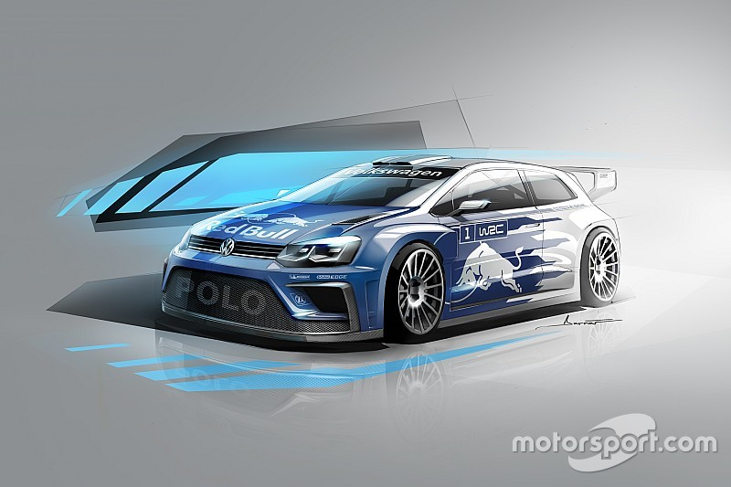Volkswagen onthult eerste foto van 2017 WRC-auto