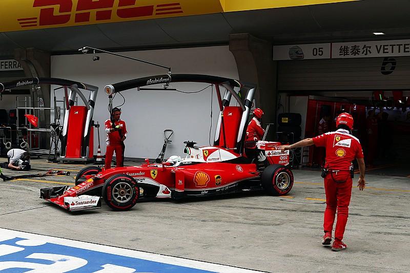 Vettel cree que la estrategia de Ferrari dará resultado