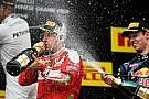 "Vettel admite que incidente com Kvyat foi ""de corrida"""