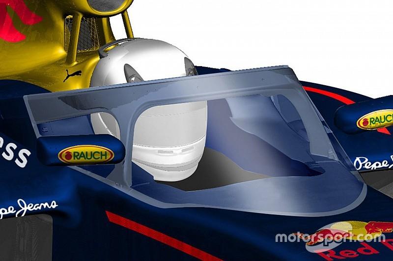 Red Bull-windscherm mogelijk al per 2017 in de Formule 1