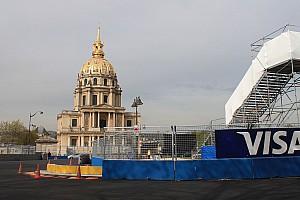 Formule E Diaporama Photos - Le Circuit de Paris à la veille de l'ePrix