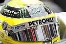 Rosberg 200km hızla giderken kaskına kuş çarptı