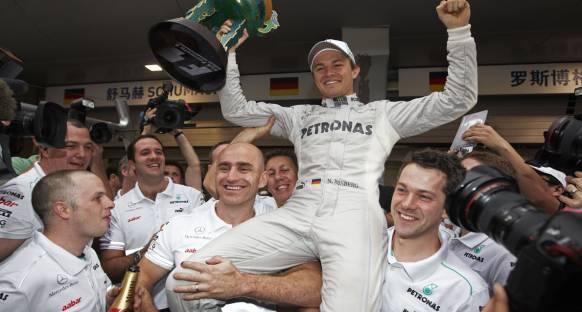 'Rosberg'in bundan sonraki zaferleri daha kolay olur'