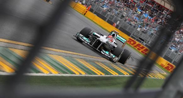 Schumi: Melbourne'deki hızımız bir kerelik değil
