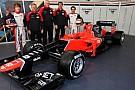 Marussia MR01 görücüye çıktı