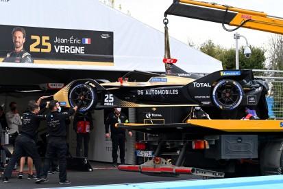 """""""Ein bisschen dumm"""": Kritik an Turvey nach Formel-E-Crash in Rom"""
