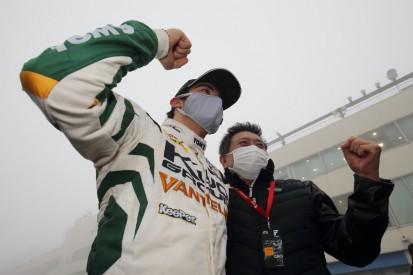Alesi-Sohn holt ersten Super-Formula-Sieg unter widrigsten Bedingungen