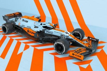 Retro-Lackierung für Monaco: McLaren fährt in klassischen Gulf-Farben