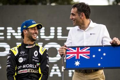 Daniel Ricciardo: Cyril Abiteboul will sich Tattoo nach wie vor stechen lassen
