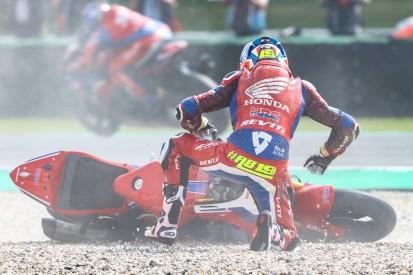"""""""Kein Feedback vom Motorrad"""" - Warum Bautista mit der Honda so oft stürzt"""