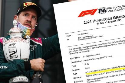 Vettel-Disqualifikation bleibt: Aston-Martin-Revision scheitert