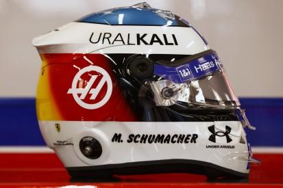 Mick Schumacher in Spa mit Helmdesign-Hommage an Vater Michael