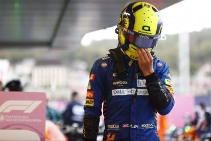 Norris nimmt Fehler auf seine Kappe: Dachte, der Regen würde so bleiben