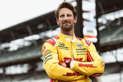 Grosjean und Johnson: Rookie-Test im Indy-Oval begonnen, aber ...