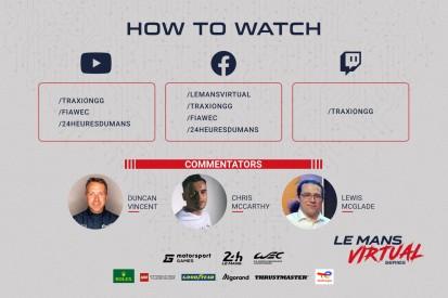 Virtuelle Le-Mans-Serie von Motorsport Games geht ins zweite Rennen