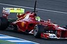 Ferrari ilk günden memnun
